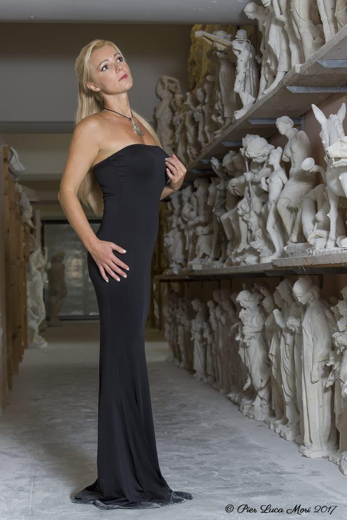 Sara Schwarz a Pietrasanta