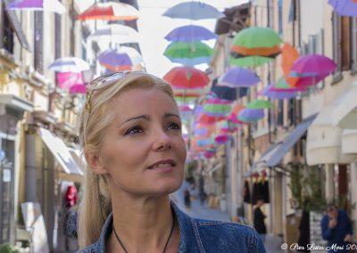Sara Swarz a Pietrasanta